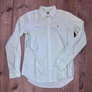 Ralph Lauren Sport Slim Fit Oxford - Green